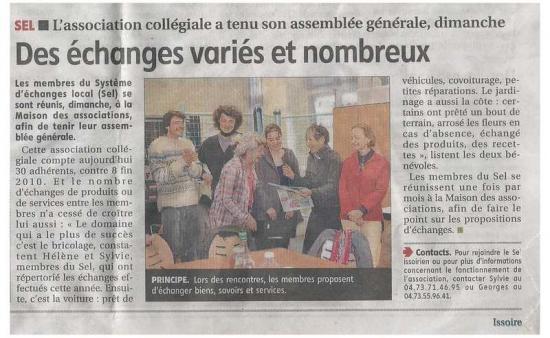 article la montagne AG 20 mars 2012